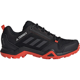 adidas TERREX AX3 Gore-Tex Hiking Shoes Waterproof Men core black/carbon/active orange